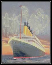 Titanic Spirit - Cross Stitch Chart/Pattern/Design/XStitch