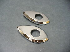 64 Ford Galaxie 500XL door handle escutcheons Mercury S55
