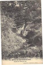 58 - cpa - Cascade de l'étang de Seu