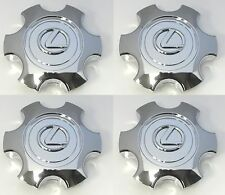 2003 2004 2005 LEXUS GX470 CHROME CENTER CAP WITH CHROME EMBLEM FULL SET OF 4