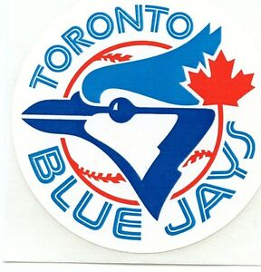 TORONTO BLUE JAYS TEAM ISSUED ORIGINAL STICKER VINTAGE 1980'S  MINT  3""
