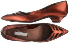 New Hollywould Womens Fiona Flat Shoe Size 6 European 36 Retail $345 Pomagranite