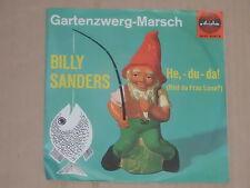 """BILLY SANDERS -Gartenzwerg-Marsch- 7"""" 45"""