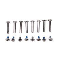 8x/set inline roller axles blades screws skate wheel bolts for skate shoes