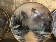 Vintage Franklin Mint Fine Porcelain Collectors Plate (Peaceful Solitude) 1992