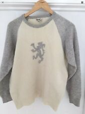 VINTAGE Rare Mens PRINGLE Jumper Sweater PURE NEW WOOL SCOTLAND medium 90s