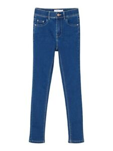 NAME IT Skinny Jeans Hose NKFPolly DNMTindy medium blau Größe 128 bis 164