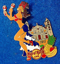 ONLINE SEXY CUBA CARIBBEAN FEBRUARY PIN UP GIRL SERIES Hard Rock Cafe PIN LE100