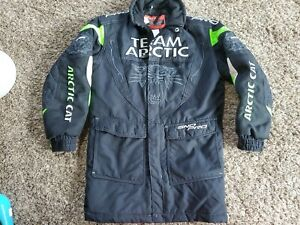 Team Arctic Cat Racing Embroidered Coat Sno Pro Junny On Track Logo Youth C8