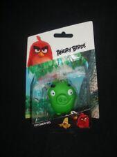Angry Birds Cerdo Verde XXL KEYRING LLAVERO KEYFOB, Nuevo Y Sellado
