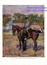 Kaiser Franz Joseph I. von Österreich Kunstdruck 1908 Adalbert Kossak Chlopny +