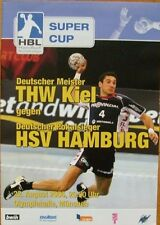 THW Kiel - HSV Hamburg Programm Handball Supercup München 22. August 2006
