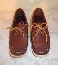 Sebago docksides womens 8.5N casual boat deck shoes