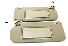 SunVisor Windshield Black Suede W// Lighted Mirror /& Adjust Bar 2014-16 LaCrosse