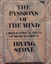 PASSIONS OF THE MIND by IRVING STONE  SIGNED HB 1ST EDITION Sigmund Freud