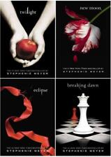 Stephenie Meyer THE TWILIGHT SAGA Set of LARGE TRADE PAPERBACK Editions 1-4