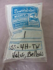 SS Bellows-Sealed Valve, Welded, SS Stem Tip, 1/4 in. TSW and 3/8 in