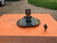 Mattel Battlestar Galactica Cyclon Ship + figure + rocket thingy?