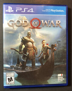 God of War [ First Print Blue Case ] (PS4) USED