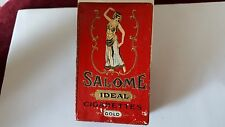 Antique Salome Ideal Cigarettes Gold Rosedor Cigarette Co.