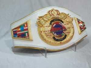 High Quality A+ New ISKA World Boxing Belt Adult Size Replica Adult Size