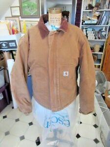 Carhartt Arctic quilt lined men's jacket, Regular 48 medium, JO2 BRN