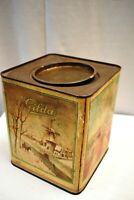 "Vintage N.V ""Gilda"" Confectionery Works Rotterdam Holland Tin Advertising Box""5"