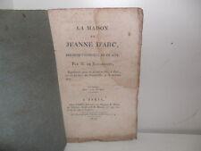 De Rougemont:  La Maison de Jeanne d'Arc, anecdote-vaudeville - Fages, 1818