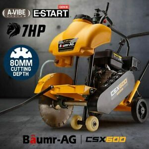 【EXTRA15%OFF】Baumr-AG Concrete Road Saw - Cutter Tools Push Construction