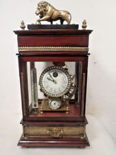"Lion Top Ferris Wheel Clock--Weight Driven By 1"" Ball Bearings--NO KEY REQUIRED"