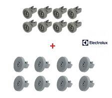 REX ELECTROLUX Kit 8+8 Ruote Cesto Cestello Superiore e Inferiore Lavastoviglie