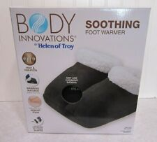 Body Innovations Soothing Foot Warmer With Massage NEW