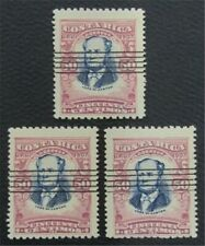 nystamps Costa Rica Stamp # 66 Used $75   O22x316