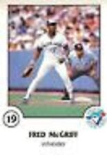 1988 Toronto Blue Jays Police  Fire Safety Set (36) McGriff Stottlemeyer