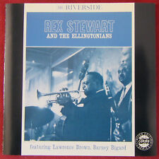 REX STEWART AND THE ELLINGTONIANS CD  FEATURING LAWRENCE BROWN BARNEY BIGARD