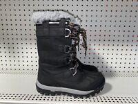 Bearpaw Desdemona Womens Waterproof Insulated Winter Snow Boots Size 7 Black