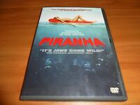 Piranha (DVD Widescreen 2011) Richard Dreyfuss, Elisabeth Shue Used