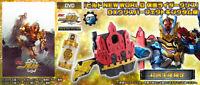 Nuovo Kamen Rider Build Mondo DVD & Grasso Dx Perfetto Kingdom Set
