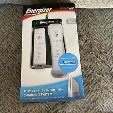Energizer Nintendo Wii Power & Play Flat Panel Charging System New Sealed