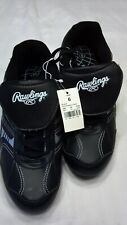 New listing RAWLINGS BASEBALL SHOES RUBBER SPIKE CLEATS  (Size 6) NWT