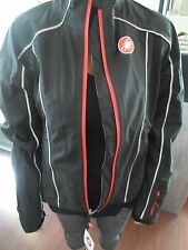 Women's DONNA Castelli Water Rain Resistant Cycling Jacket Full Zip (L) NWT'S