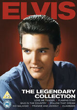 Elvis Presley: The Legendary Collection (NEW 7 MOVIE DVD UK RELEASE)