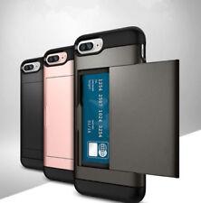 Iphone 5 678X.models Card holder Hybrid Survivor Stylish Wallet Case Cover