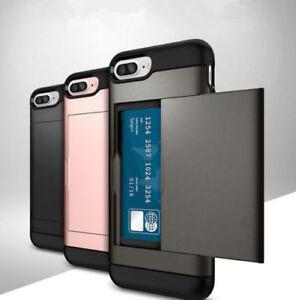 Apple phone 5 6 78 X.models Card holder Hybrid Stylish Wallet Case Cover