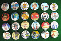 MAD MAGAZINE 24 Promo Pinback Buttons Pins RARE 1987