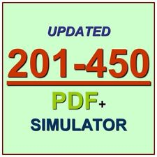 LPIC-2 Exam 201 Part 1 of 2 version 4.5 Exam 201-450 Test QA PDF+Simulator