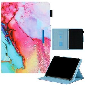 """Universal 8 inch Tablet Case Cute Folio Flip Wallet Cover for 7.5"""" - 8.5"""" tablet"""
