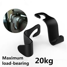Universal Car Auto Black Back Seat Hook Hanger Bag Coat Purse Organizer Holder