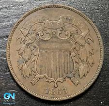 1868 2 Cent Piece  --  MAKE US AN OFFER!  #B6352