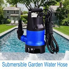 400W/750W/1100W Submersible Water Pump Silent Garden Clean Dirty Water Fountain